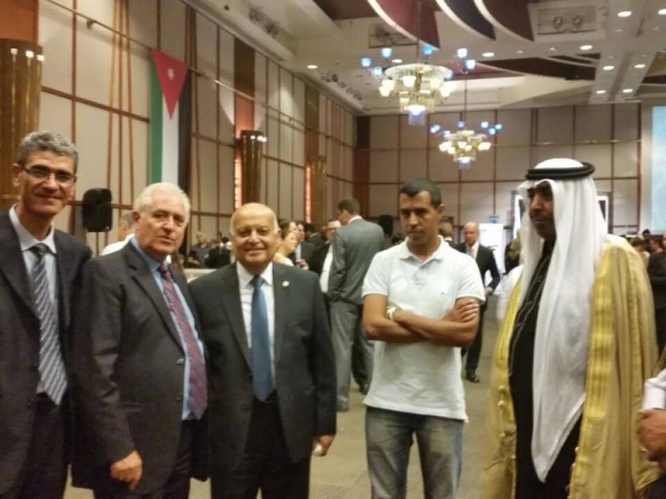 Ambassadors' Club President at the Jordanian National Day Reception